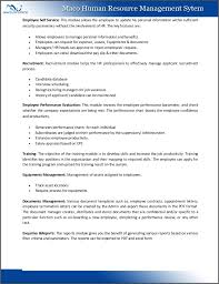 Maco Human Resource Management System