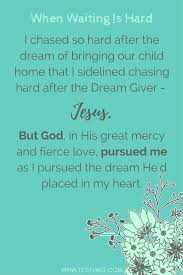 The Dream Giver Quotes Best of God Is Faithful To Pursue Us Even When Our Focus Shifts From The