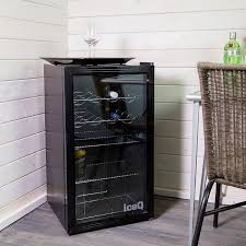 under counter glass door display fridge ref iceq93g save 33 100 00
