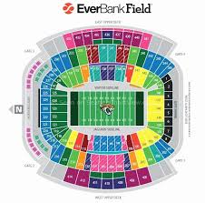 Tiaa Everbank Seating Chart 14 Described Jags Stadium Seat Chart