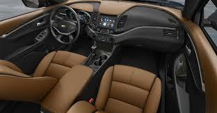 New Chevy Impala Design Tweaks To Chevy Design Basics Amplify Interior Spaciousness