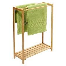 standing towel rack brushed nickel. Standing Towel Holder Free Rack Brushed Nickel T