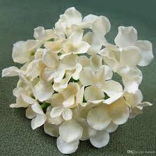 2018 blooming silk hydrangea flower heads for diy bouquets wedding centerpieces home decor from sweet4 11 05 dhgate com