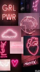 Neon Wallpaper Pastel Neon Pink ...