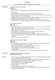 Actuary Resume Actuarial Manager Resume Samples Velvet Jobs 63