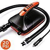 Pagurio 20PSI <b>Smart Electric</b> SUP <b>Pump</b> - 12V DC <b>High Pressure</b> ...