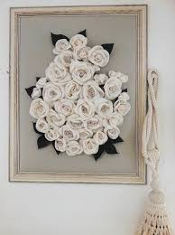 3d wall hanging masive frame textile