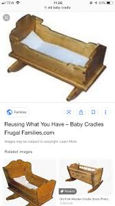 Pin by Nichole Shelton on Tattoos. | Wooden cradle, Baby cradle, Baby family