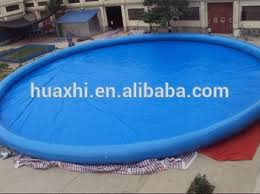 Custom Heated Inflatable Round Above Ground Pvc Frame Pool