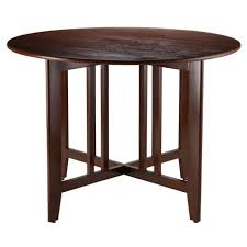 Drop Leaf Round Dining Table Varnished Wood Round Dining Room Tables With Alamo Double Drop