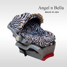 infant car seat cover blue zebra nt 115 00
