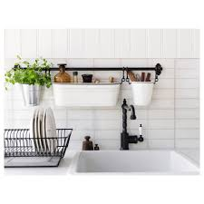 Shelves Awesome Ikea Kitchen Wall Organizer Fintorp Condiment
