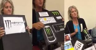 monster energy satanic. Unique Energy Woman Claims Monster Energy Drinks Are The Work Of Satan  Pop Culture  Video  EBaumu0027s World In Satanic 6