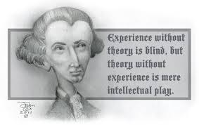 about reedertheman kant responded to his predecessors by arguing against the empiricists that the mind is not a blank slate that is written upon by the empirical world