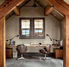 rustic home office desk. view in gallery rustic home office with sleek live edge desk from locati architects gibeon photography
