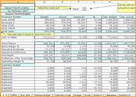 Free Excel Business Templates Business Budget Template Free Excel