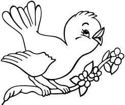 Tổng hợp các bức tranh tô màu con chim đẹp nhất cho bé