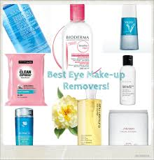 best eye makeup remover