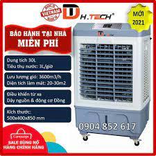 Bảo hành tại nhà Quạt điều hoà làm mát hơi nước phun sương 30L 35L H-TECH  RaiKa Đạt Tường, Quạt Điều Hòa Việt Nam - Máy lạnh - Máy điều hòa
