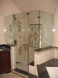 Shower Door clean shower door photographs : How To Clean Glass Shower Doors Bathroom Design Featuring Large ...
