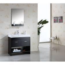 White Wood Bathroom Vanity White Bathroom Vanity With Shelf Bathroom Vanities