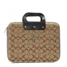 Coach In Signature Large Khaki Business bags AFR