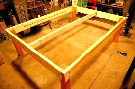 Cal King Metal Bed Frame Heavy Duty