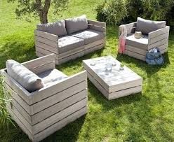 Cosy Outdoor Furniture Made From Wood Pallets Pallet Garden Table Simple  Guide To Making Patio Wooden