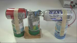 homemade generator. Homemade/DIY Van De Graaff Generator Made With Two Soda And Beer Cans For The Homemade O