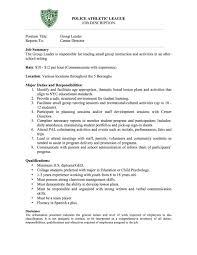 Team Leader Job Description For Resume Paljobdescription Warehouse Team Leader Job Description For Resume 10