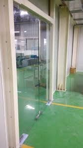 transpa frameless doors