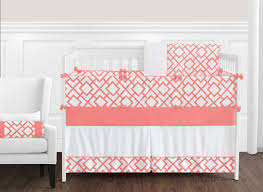 c and white diamond baby bedding 9pc crib set by sweet jojo designs
