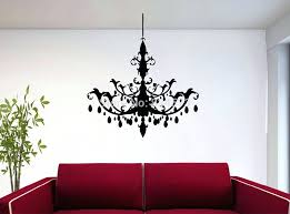 chandelier wall decor compare s on chandelier sticker wall art ping chandelier wall sticker