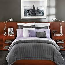 ralph lauren gray haberdashery pinstripe duvet cover full queen bloomingdale s exclusive