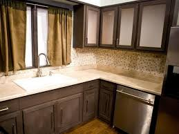 2 Tone Kitchen Cabinets Kitchen Cabinet Door Painting Ideas Amys Office