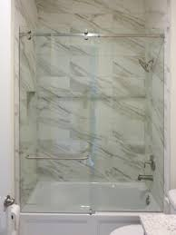 clear glass showers 2