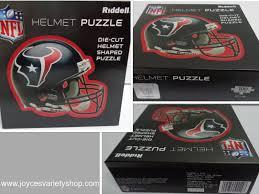 Nfl Houston Texans Die Cut Helmet