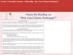 citizen office concept. should citizens participate citizen office concept n