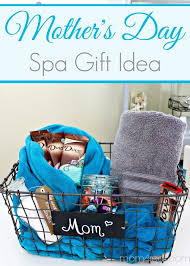 mother s day gift idea spa gift basket