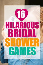 16 great bridal shower games you have to try