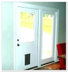 pet door for glass door sliding door with dog door door sliding door dog door insert