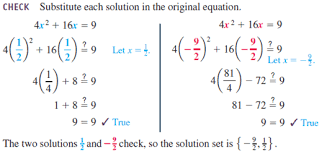 solved solve the equation by