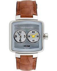 louis vuitton watch. louis vuitton | speedy duo jet gmt watch, 34mm lyst watch u