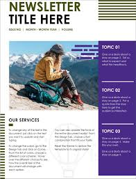 Microsoft Office Word Newsletter Templates 32 Free Newsletter Templates For Classroom And Community