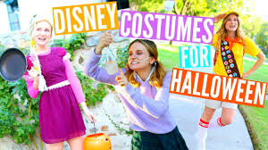 Homemade Disney Costume Ideas Diy Disney Costumes For Halloween Youtube