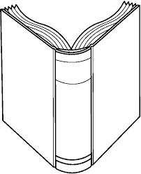book clipart. pin rear clipart open book #11