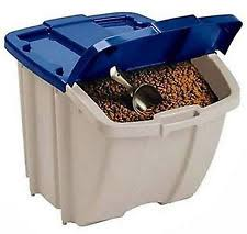 dog food storage bins 50 lb Dry food: how to safely store and handle kibble | Zozeen