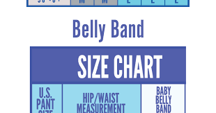Belly Band Size Chart Babybellyband Sizing Chart Groin Belly Best Maternity