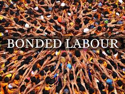 short essay on the bonded labour