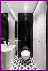the best of small black and white bathroom. The Best Bathroom Geometric Floor Tiles For Small Black And White Image Designs Style Concept Of E